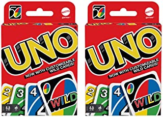 Mattel 4347154784 Uno Card Game 2 Pack, Red