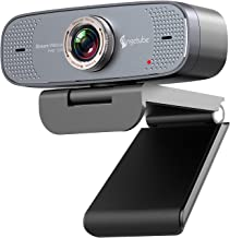 1080P Web Camera - Angetube HD Webcam with Microphone - USB Computer Camera with 90-Degree Wide Angle, Plug and Play for Z...