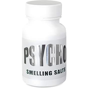 Psycho Smelling Salts Original- Smelling Salts-Ammonia-Smelling Salts for Athletes-Ammonia Inhalant-Powerlifting-Ammonia Inhalants Smelling Salt-Single Bottle by Newton Health