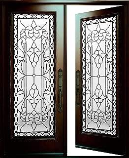 Best black double front entry doors Reviews