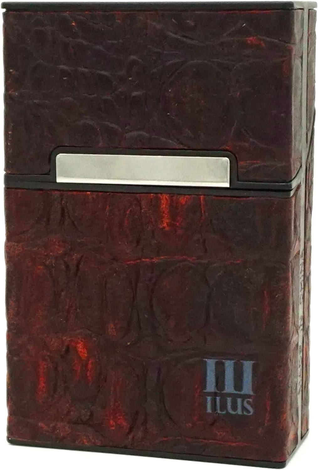 Cigarette 100% quality warranty! Max 41% OFF Case Leather Box Package Size King