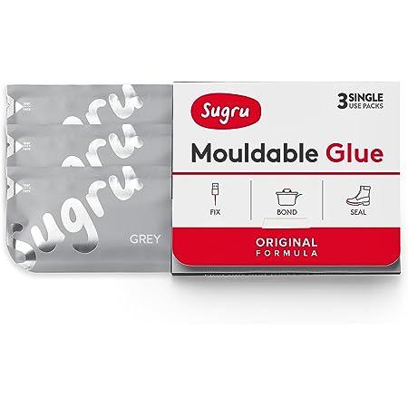 Sugru スグルー成形可能粘着剤‐オリジナル配合- グレ(3 パック)