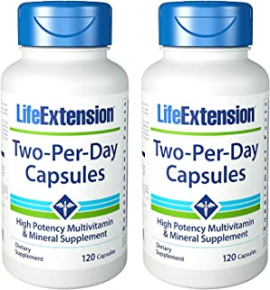 Life Extension 2 Per Day 120 Capsules, 2 Pack
