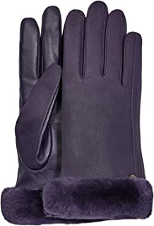 UGG Classic Leather Shorty Tech Glove Womens