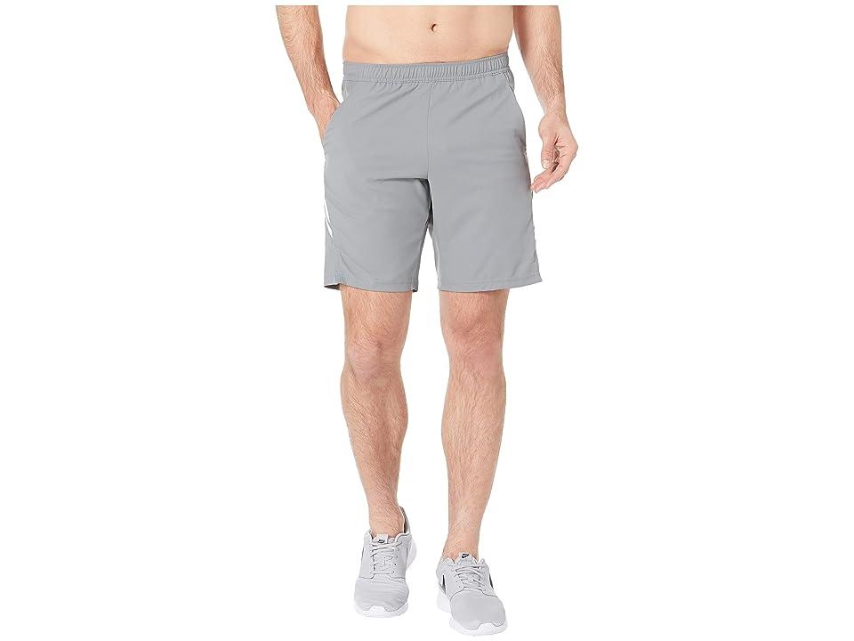 Nike NikeCourt Dry Shorts 9 (Cool Grey/White/White) Men