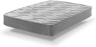 Colchón ViscoGel-Grafeno Plus de Muelles ensacados 135X200|Confort y Refuerzo Lumbar| 24 cm | Certificado Sanitized® y Oeko-Tex®