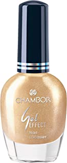 Chambor Gel Effect Nail Lacquer, Gold No.653, 10 ml