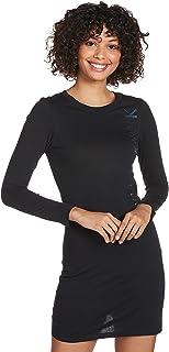 فستان لوجو عاكس للعلامة التجارية باكمام طويلة للنساء من كالفن كلاين (عبوة من 3 قطعة)