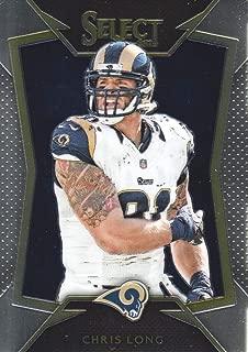 2014 Select Football #91 Chris Long St. Louis Rams