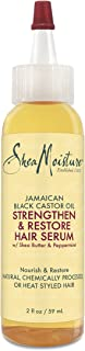 SheaMoisture Jamaican Black Castor Oil Strengthen, Grow & Restore Hair Serum, 2 Ounce