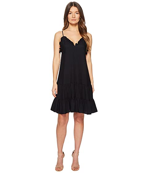Rebecca Taylor Sleeveless Silk Slip Dress