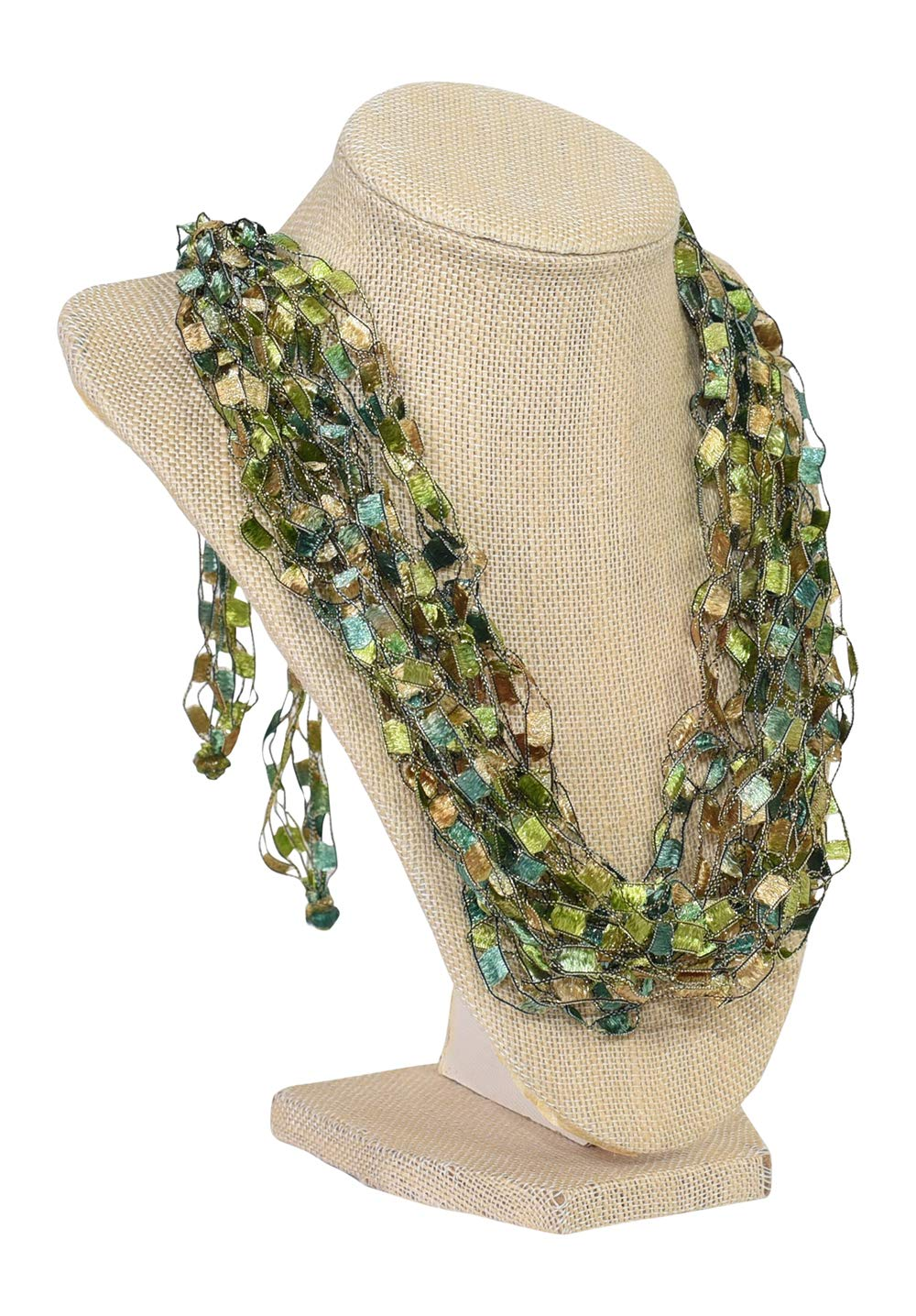 Don't miss the campaign Ranking TOP4 Adjustable CROCHET NECKLACE SCARF- Handcrafte Charming Quality