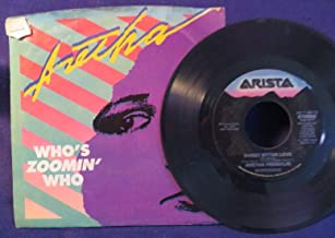 ARETHA FRANKLIN Whos Zoomin Who/Sweet Bitter Love 45 RPM ARISTA RECORDS