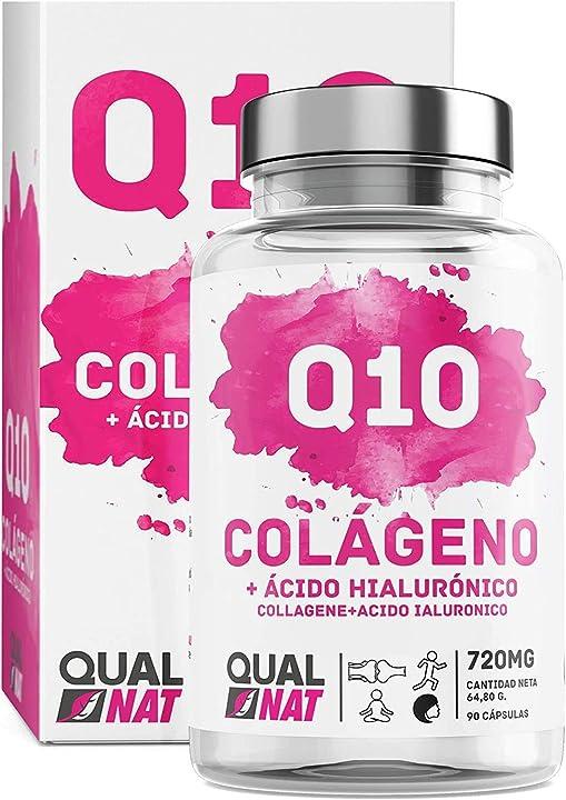 Collagene marino  con acido ialuronico + 90 cap- qualnat B07BXWYR5G