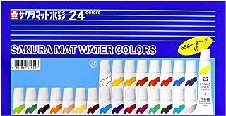 Sakura Color 24 Colour Laminated Tubes Enter Mat Watercolour
