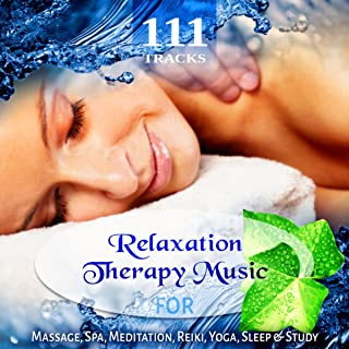 111 Tracks: Over Five Hours Relaxation Therapy Music for Massage, REM Deep Sleep, Yoga Meditation, Reiki Zen Flutes New Age, White Noise & Healing Nature Sounds