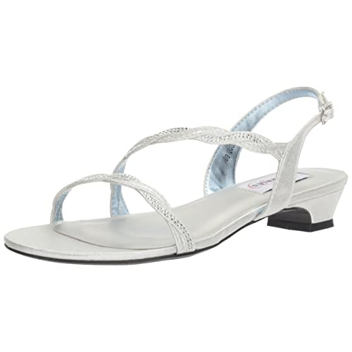 3f62fc8ca1229a Silver Wedding Sandals  Amazon.com