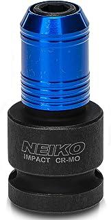 """NEIKO Conversor adaptador de haste sextavada 30275A 1/2"""" Drive fêmea para 1/4""""   Mandril de liberação rápida   Para chaves..."""