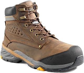 حذاء Kodiak للرجال 15.24 سم Crusade CT مقاوم للماء من ASTM ، بني متوسط، 13