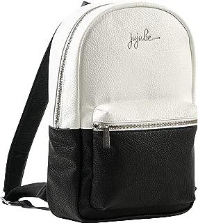 JuJuBe Mini Diaper Backpack (Black/White)