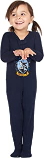 Harry Potter Intimo Baby Pajamas Set Footed Jammies Beanie Hogwarts House Gryffindor 12 Month