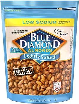 Blue Diamond Almonds Low Sodium Lightly Salted