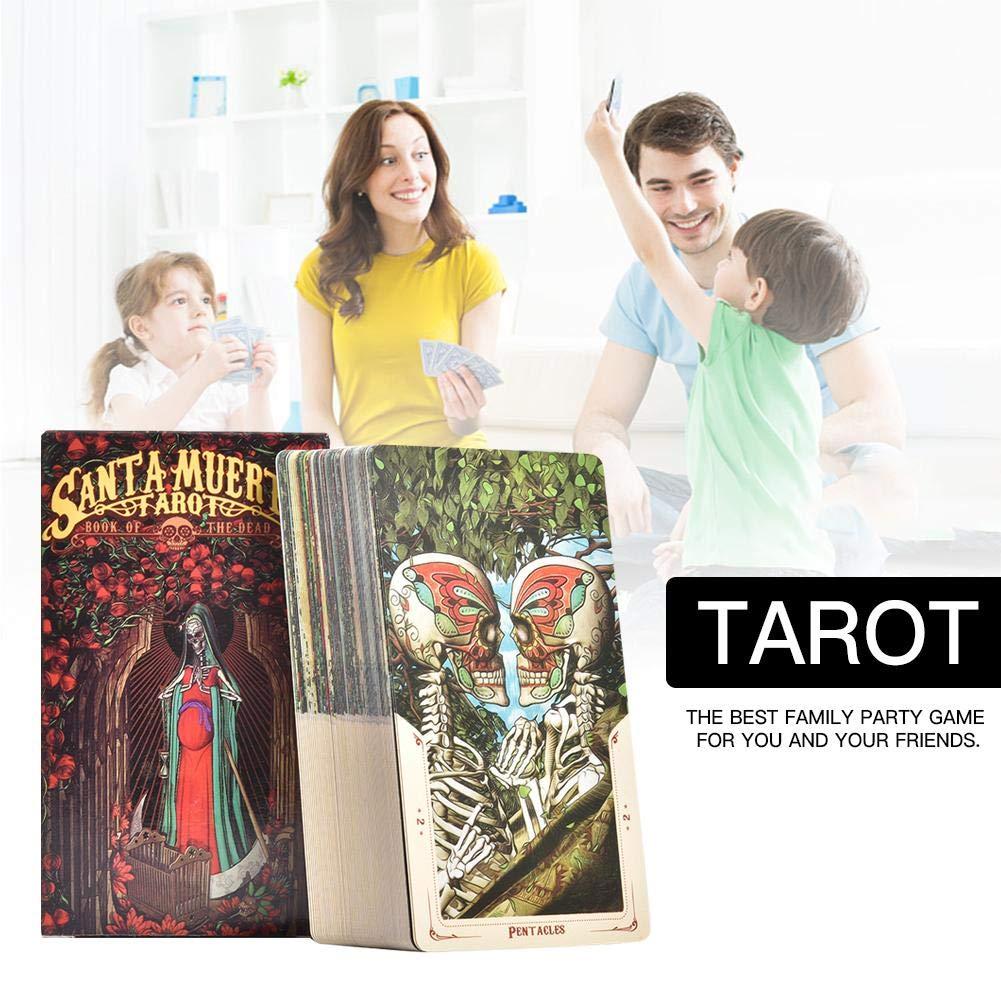 WanNing Caja De Tarot De 78 Hojas Con Caja De Color, Juego De Cartas De Juego