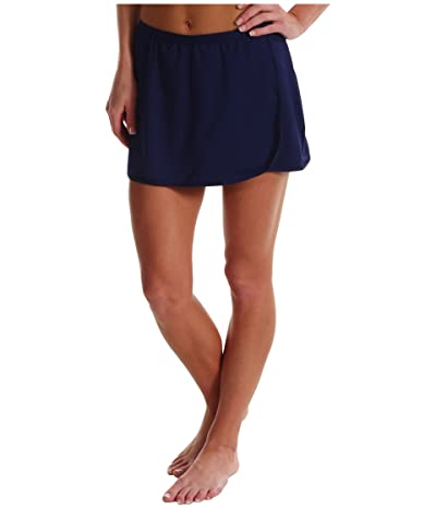 TYR Solid Swim Skort (Navy) Women