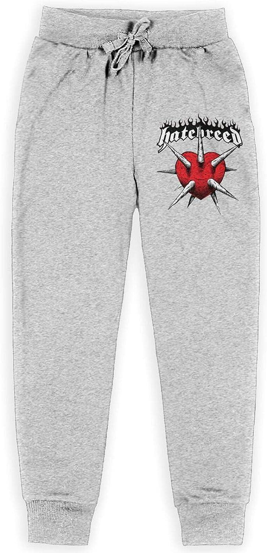 Baishuunnshan Hatebreed Agnostic Sweatpants Youth Sport Joggers Athletic Cool Pants for Boy Girl