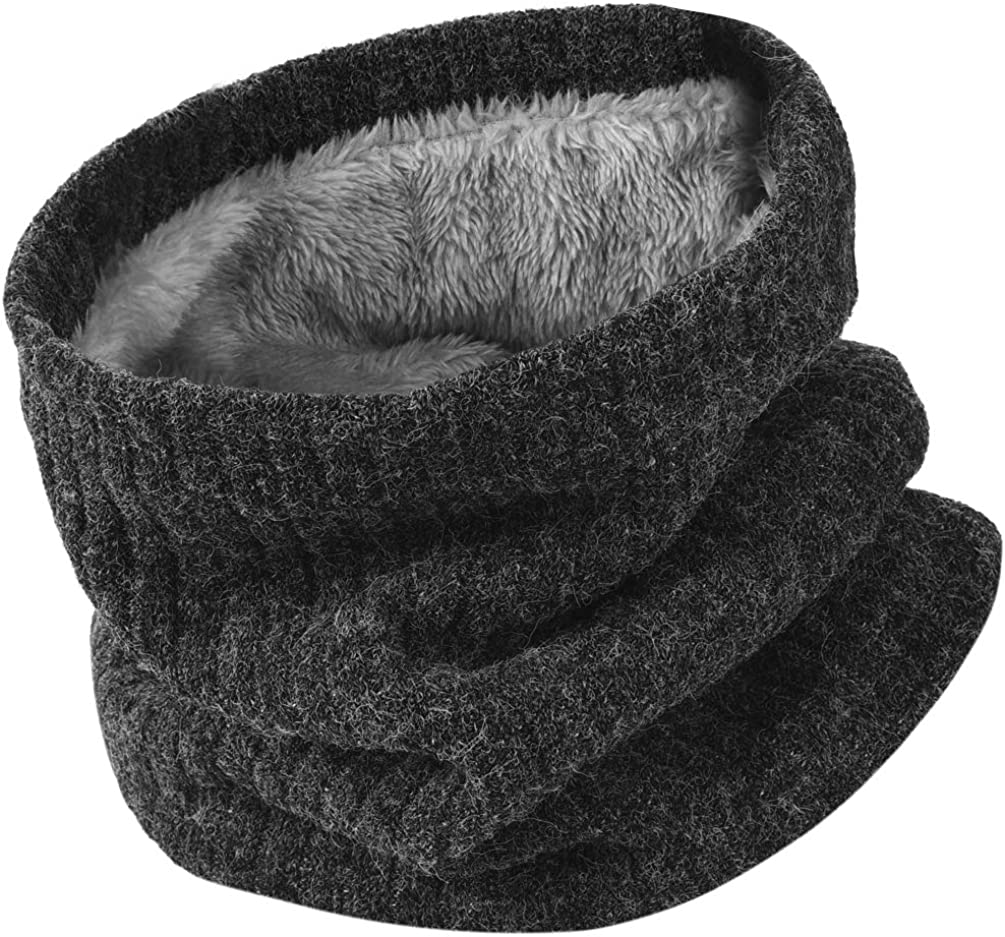 Winter Scarf Neck Warmer Gaiter - Warm Woman Knit Man Ski Max 40% OFF Free shipping on posting reviews Fleece