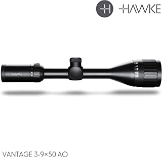 Hawke Sport Optics Vantage HD 3-9x50AO Mil Dot Riflescope, Black