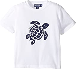 Turtle Print Tee (Toddler/Little Kids/Big Kids)
