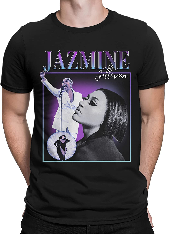 Jazmine Sullivan T-Shirt for Fan Music Cotton Clothing