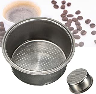 Generic Dia 51mm Stainless Steel Non Pressurized Filter Basket Reusable Coffee Filter For Coffee Machine