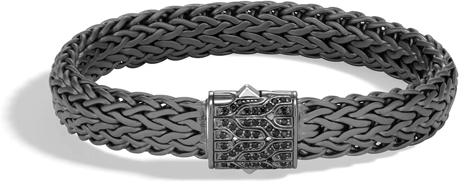 Tampa Mall MEN's Classic Chain Silver Large A surprise price is realized Flat 11mm with Bracelet P