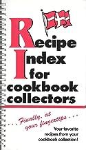 Best recipe index for cookbook collectors Reviews