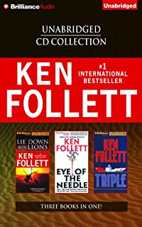 Ken Follett Unabridged CD Collection: Lie Down with Lions, E