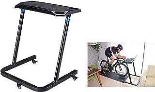 NinoLite B120 自転車 室内サイクリング専用デスク 高さ調整可能 タブレット ipad スマホ ノートパソコン 補給ドリンクボトル対応 滑り止め付トレーナーテーブル