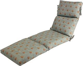 Comfort Classics Inc. 22x74x5 Sunbrella Indoor/Outdoor Fabrics in Shoreline Mist CHANNELED Chaise Cushion
