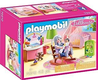 PLAYMOBIL PLAYMOBIL-70210 Dollhouse Habitación del Bebé,