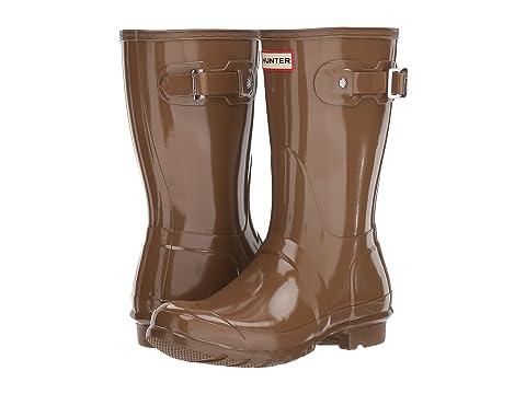 a7cf3f12e300 Hunter Original Short Gloss Rain Boots at Zappos.com