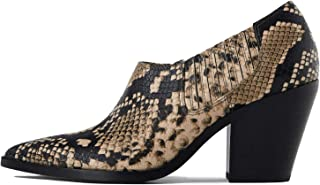 Uterque Women Printed Cowboy high Heel Shoes 5072/051