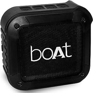 boAt Stone 200 Portable Bluetooth Speakers (Black)