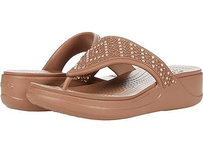 Crocs Monterey Shimmer Wedge Flip