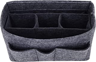 Handtaschen-Organizer – 2 in1 Filz Geldbörse Organizer Einsatz mit Innentasche mit Reißverschluss, Taschen Organisator, Gr...