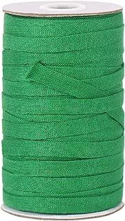 Fil de jardin souple vert extensible et biodégradable en coton pour supports de plantes et arbres (8 mm, 50 m)