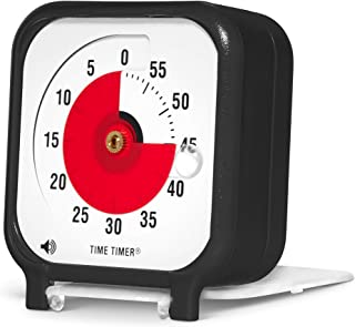 Time Timer Original 3 inch Visual Timer, A 60 Minute Countdown Timer for Kids Classrooms, Meetings, Kitchen Timer, Adults ...