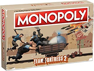 USAOPOLY Monopoly Team Fortress 2 Board Game | Based on Team Fortress 2 Video Game | Officially Licensed Team Fortress 2 Merchandise | Themed Classic Monopoly Game