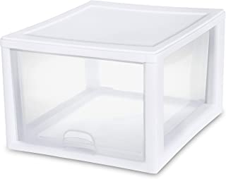 Sterilite 2310-4 27 QT/26 Liter stacking drawer