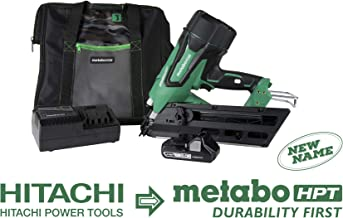 Metabo HPT NR1890DC 18V Cordless Framing Nailer, Brushless Motor, 2